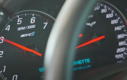 Chevy Corvette C6 ZR1 Duels Lamborghini Huracan In Rolling Race