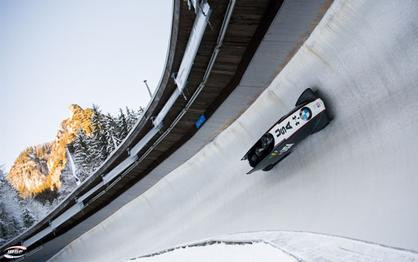 Church, Williamson, Reed and Horn sixth in Koenigssee's four-man bobsled World Cup