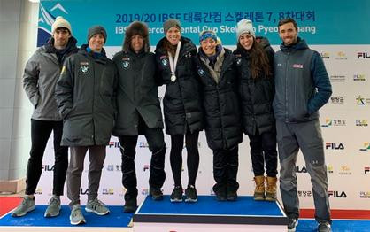 U.S. women claim three medals in Intercontinental Cup finale; Curtis claims overall title