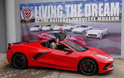 First 2020 Corvette Stingray Delivered at the National Corvette Museum