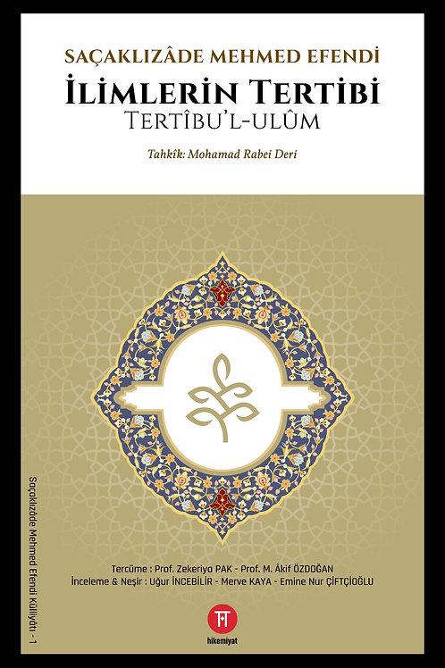 İlimlerin Tertibi - Saçaklızâde Mehmed Efendi