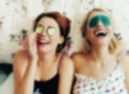 Meninas de riso Makeover