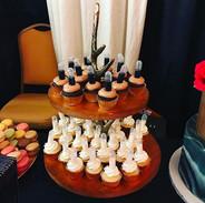 Liquor Shot Mini Cupcakes 🥂