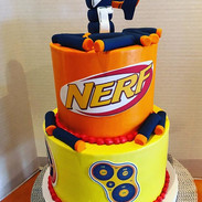 Nerk Birthday Cake