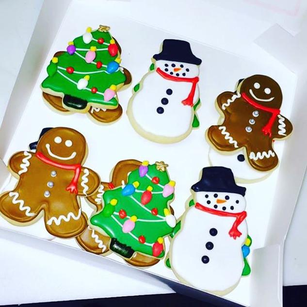 Christmas Sugar Cookies ❄️🎅🏼⛄️