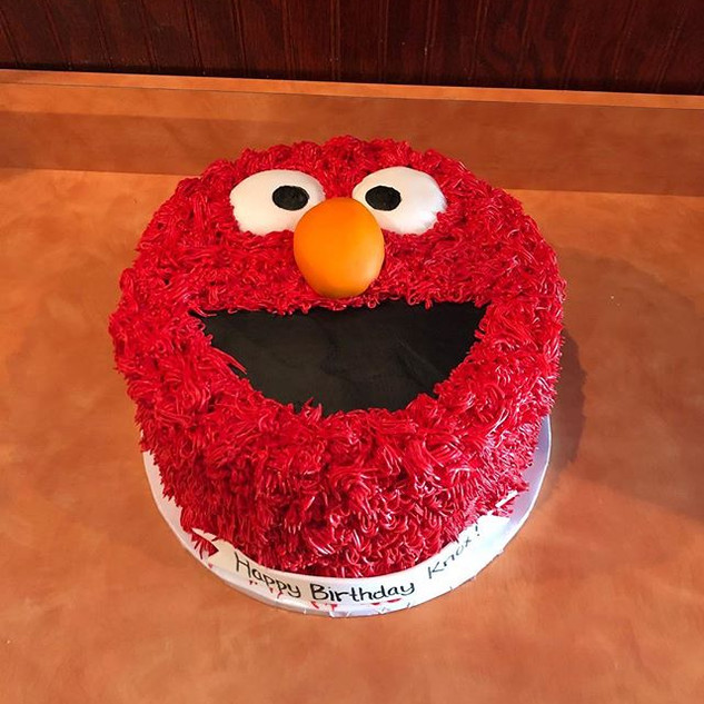 Elmo Birthday Cake ❤️ #elmo