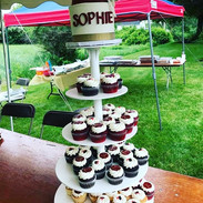 Awesome customer picture of a cupcake to