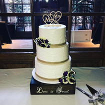 Simple Beautiful Wedding Cake from today