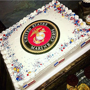 Marine Corps Cake 🇺🇸 #military #marine