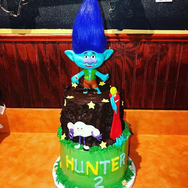 Trolls Cake #trolls #cake