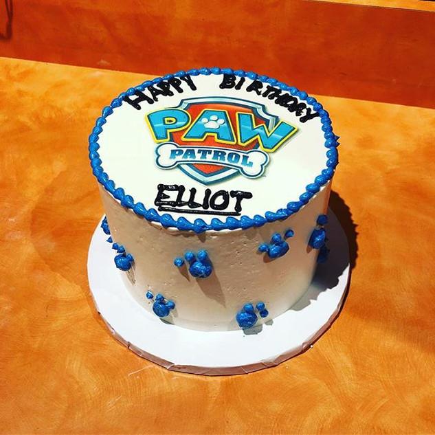 Paw Patrol Cake 🐾 #pawpatrol #cake #bak