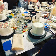 A picture from our Adult Wine & Cake Dec