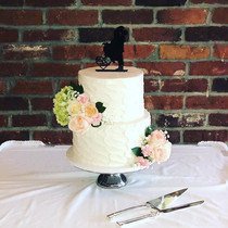 Summery Buttercream Wedding Cake 💍