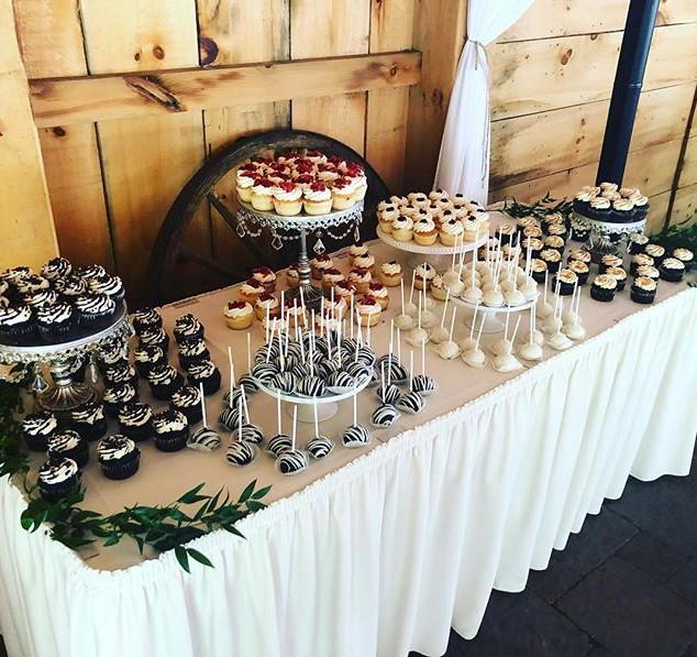 Wedding Dessert Bar from this past weeke