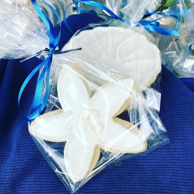 Seashell Sugar Cookies