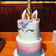 Pastel Unicorn 🦄 #cake #baked