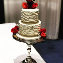 The Hunt is Over Wedding Cake 💍