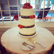 Fall Wedding Cake from this weekend !