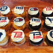 Tom Brady Cupcakes 🏈🏈 #tombrady _patri