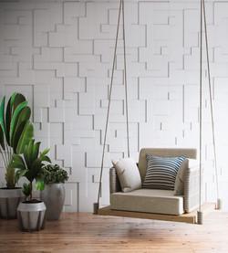 Mosaico Temis - cor Bianco
