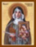 st__catherine_of_bologna_icon_by_theophi