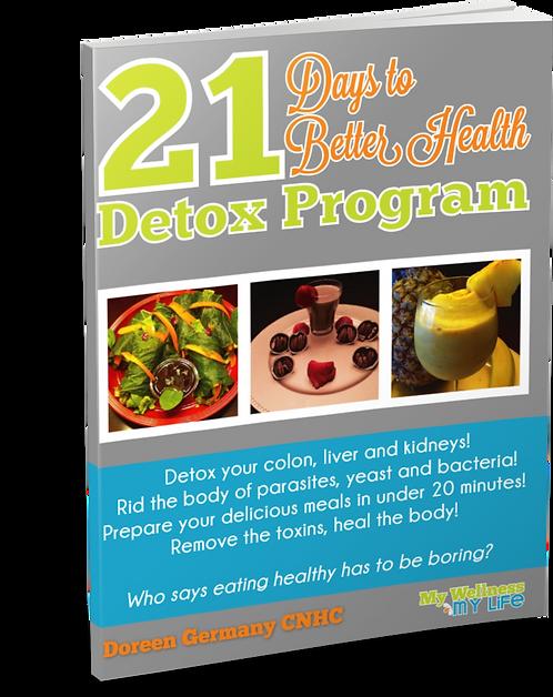 21-Day Detox E-book.