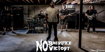 no sacrifice no victory website picture.