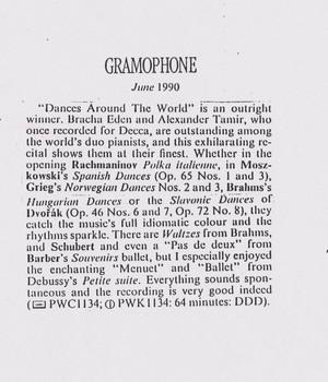 Gramophone, 1990