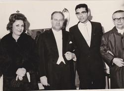 with David Oistrach, Tel-Aviv, 1967