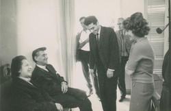 with Leonard Bernstein and  Jenni Tu