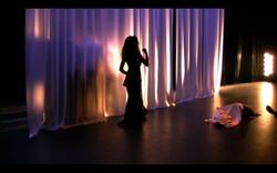 20. Agamemnon Clytemnestre devant le rideau