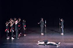 11 Ajax Grèce Le choeur, Agamemnon et Ulysse