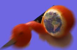 """d'ici-là espérons que la terre soit """"bleue comme une orange"""""""
