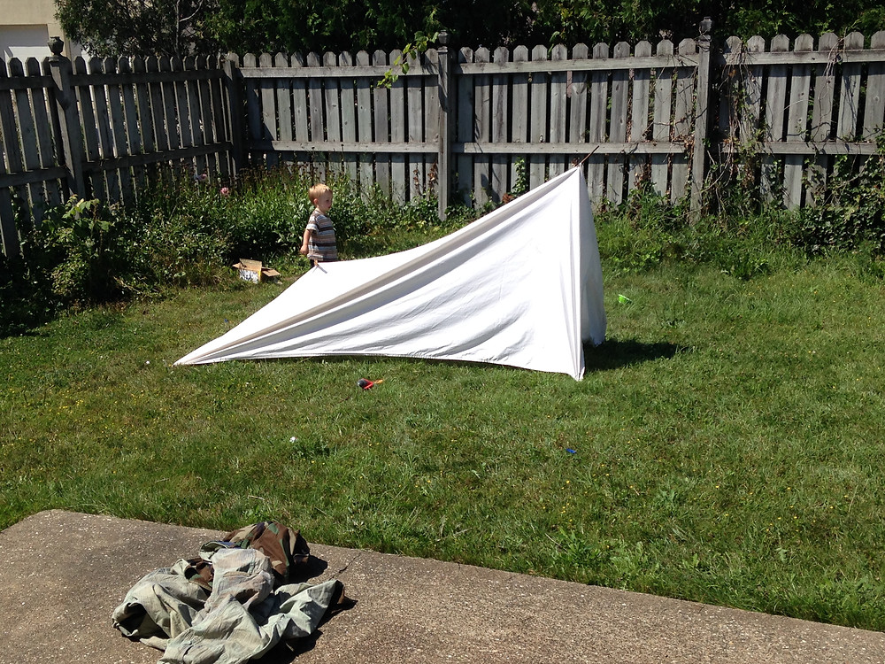 Sheet Tent