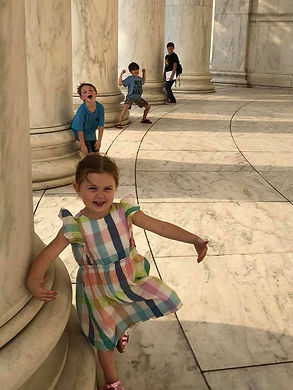 Trip to the Thomas Jefferson Memorial in DC