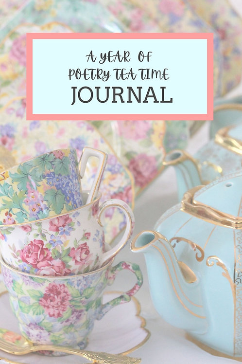 A Year of Poetry Tea Time (Pink Theme)