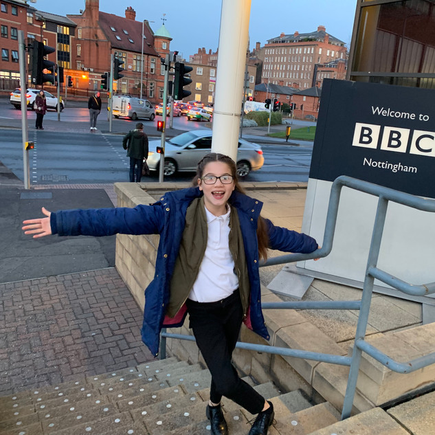 The interview that started it all. Thanks BBC radio Nottingham -you are amazing.