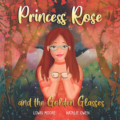 Story Book - Princess Rose and the Golden Glasses