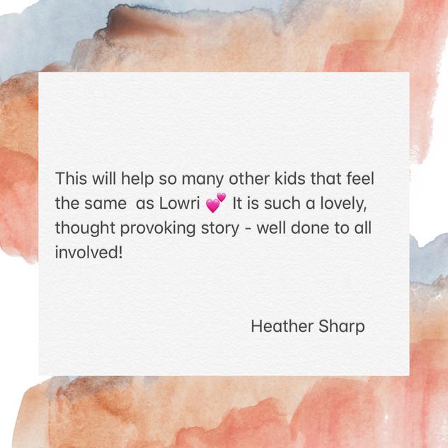 Thanks Heather