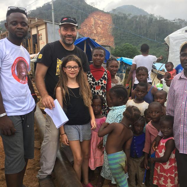 Me in Sierra Leone