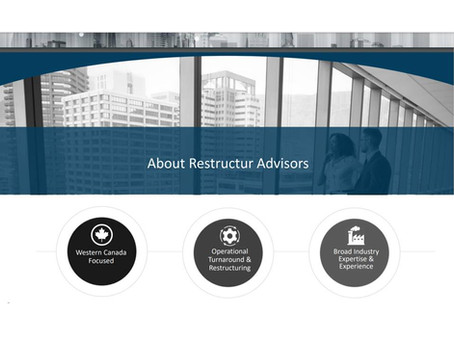 So what's a Restructur Advisor?