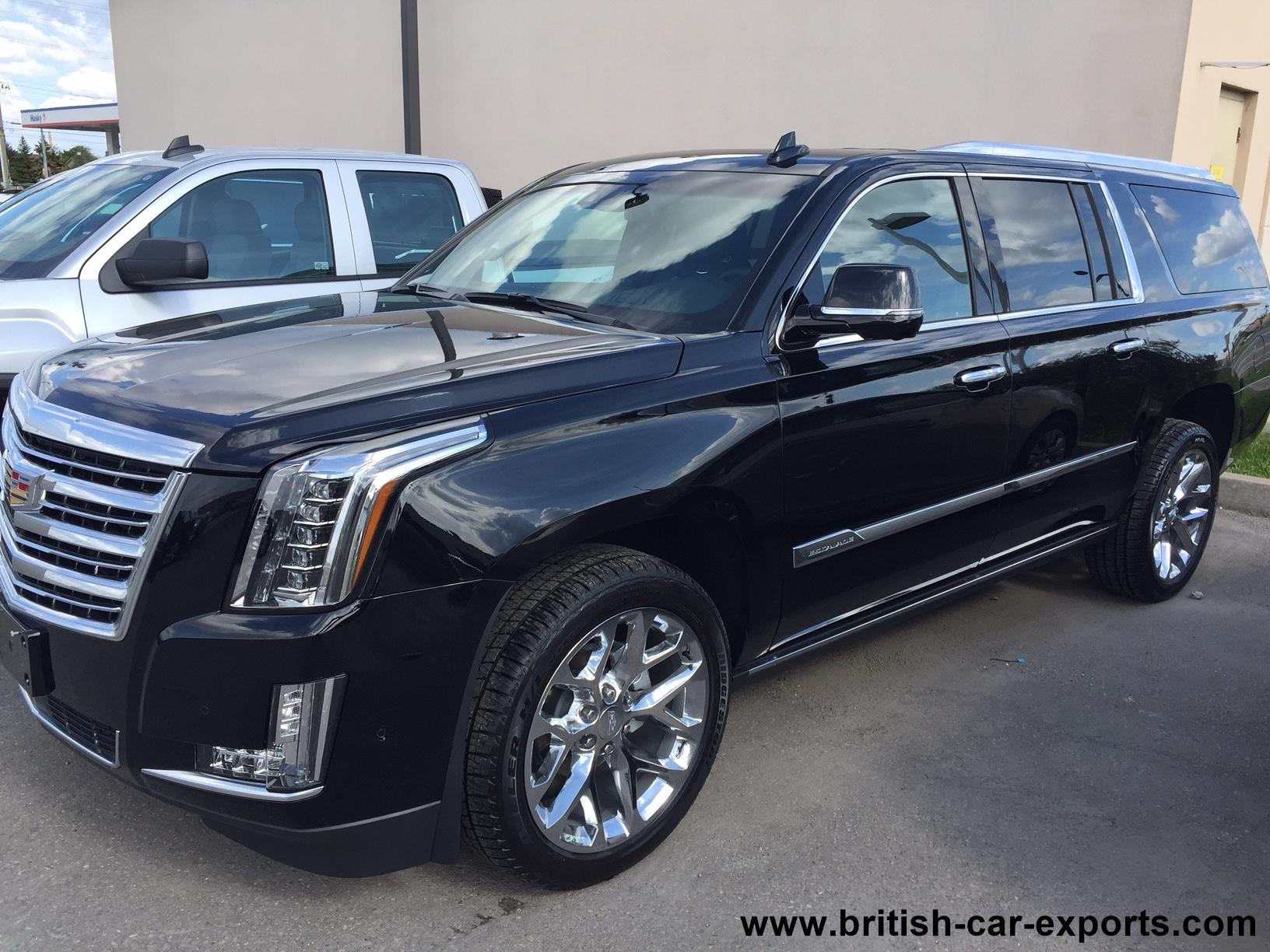 Cadillac Escalade 2017 For Export