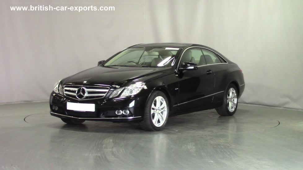 Mercedes E220 CDi Coupe 2011
