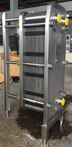 15m2 Stainless Steel Dual Zone Heatexchanger
