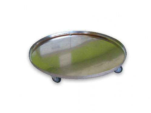 Stainless Steel Rolling Pan / 500 L Braumeister