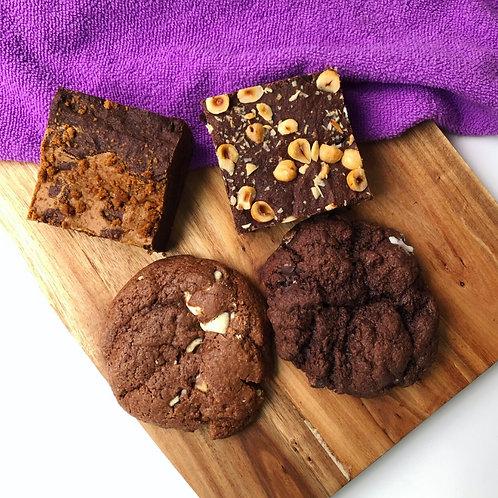 Postal Brownie & Cookie Box