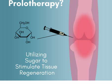 Prolotherapy and the Use of Sugars in Orthopedics