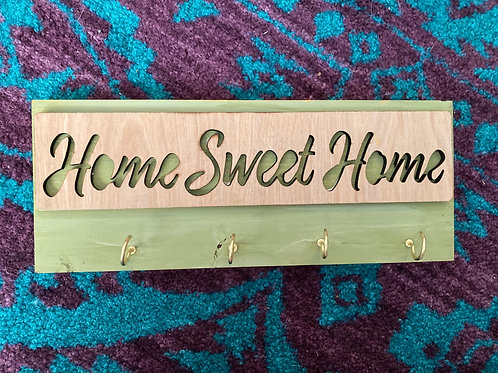 'Home Sweet Home' DIY Key Holder