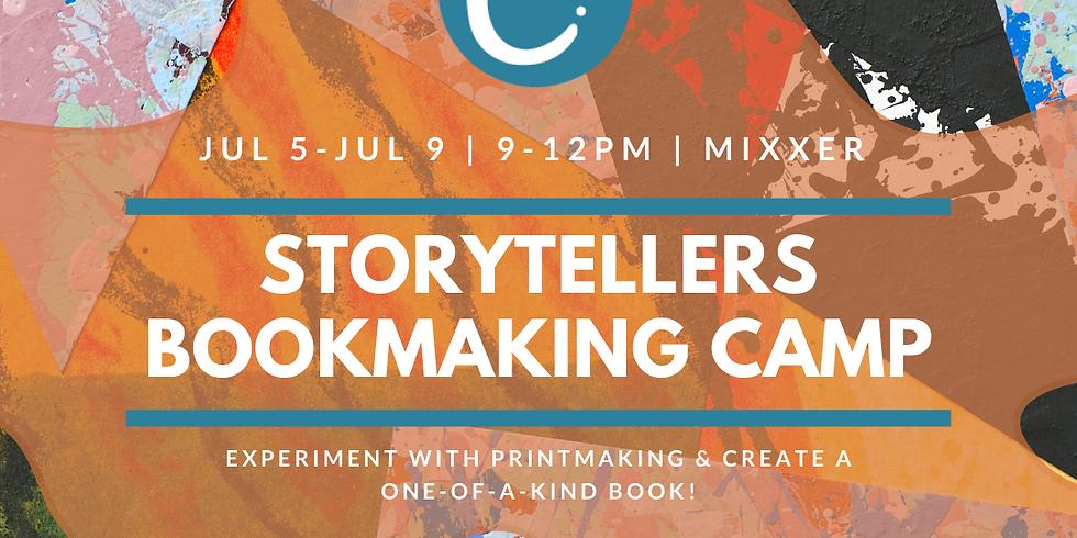 STORY TELLERS | BOOKMAKING & PRINT MAKING