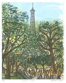 Rachel Clark - Eiffel Tower